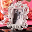 "Kate Aspen """"White Baroque"" Elegant Place Card Holder/Photo Frame"""