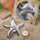 Starfish Design Bottle Opener Favours
