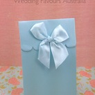 """Blue ""Delivered with Love"" Boxes"""