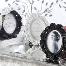 """The Fairest of Them All"" Enchanting Place Card Holder/Photo Frame (White or Black)"