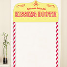 """Kissing Booth Personalised Photo Backdrop"""