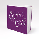 """Notepad Favour with Personalised Expressions Cover (Set of 12)"""