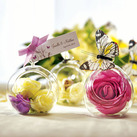 """Blown Glass Globes Wedding Reception Accessory (Set of 4)"""