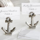 """Nautical"" Anchor Place Card/Photo Holder"