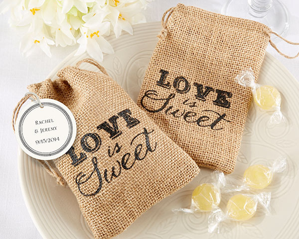 http://www.weddingfavoursaustralia.com.au/products/love-is-sweet-burlap-drawstring-favor-bag-set-of-12