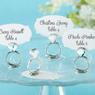 """With This Ring"" Jeweled Place Card/Photo Holder"