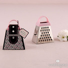 """""Grate Shopping"" - Pink Mini Grater Favour Gift"""