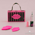 """""Read My Lips"" Lipstick Pen And Sticky Notes With Gift Packaging"""