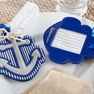 """Kate Aspen ""Anchors Away"" Luggage Tag"""