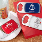 """Personalised Bottle Opener with Epoxy Dome-Wedding"""