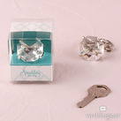 """Novelty Diamond Key Chain In Gift Favour Box"""
