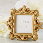 """""Royale"" Gold Baroque Place Card/Photo Holder """