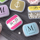 "Personalised ""Mint For You"" Heart-Shaped Mint Tin - Wedding"
