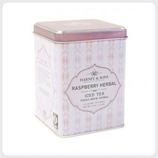 Raspberry Herbal Iced Tea Iced Tea - Harney and Sons Master Tea Blenders New York