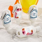 Personalized Sunscreen Bottle - Botanical