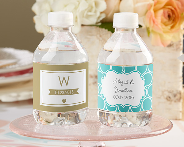 fdae5ad3d0 Personalised Wedding Water Bottle Labels