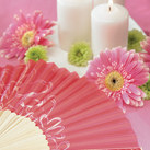 """Contemporary Hearts Fan (set of 6)"""