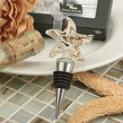 Stunning Starfish Murano Glass Bottle Stopper