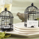 "Kate Aspen """"Love Songs"" Birdcage Tea Light/Place Card Holder """