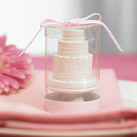 """Elegant Lace Wedding Cake Candle"""