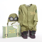 """Big Dreamzzz"" Baby Pilot Two-Piece Layette Baby Gift Set"