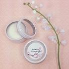"""Personalised Round Candle Tins with Cherry Blossoms Sticker Design"""