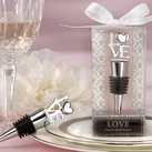 "Kate Aspen ""LOVE"" Chrome Bottle Stopper """