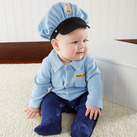 """Big Dreamzzz"" Baby Officer 2-Piece Layette Set"