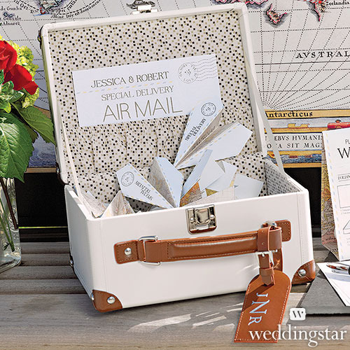 http://www.weddingfavoursaustralia.com.au/products/mini-suitcase-wishing-well
