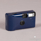 Navy Blue Single Use Camera – Solid Colour Design