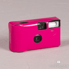 Fuchsia Single Use Camera – Solid Colour Design