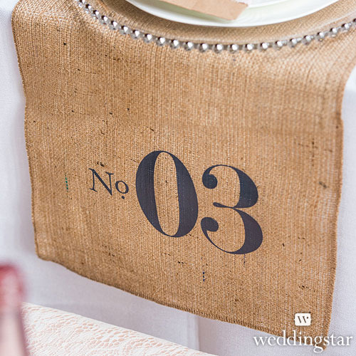 http://www.weddingfavoursaustralia.com.au/products/burlap-chic-personalised-burlap-table-runner