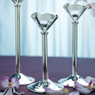 Diamond Shaped Wedding Tealight Holders (Set of 3)