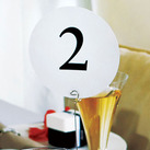 Round Table Numbers Cards (Set of 12)