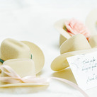 """Miniature Country Cowboy Hat Wedding Favours (Set of 12)"""