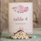 Antique White Table Number Holders
