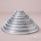 (Set of 6) Foil Wrapped Round Cake Boards For Wedding Cake Display