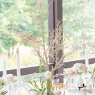 Artificial Birch Tree Wedding Centrepieces