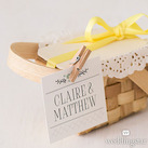 Natural Mini Wooden Clips (Set of 24)