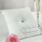 Square Fairy Tale Dreams Wedding Ring Bearer Pillow
