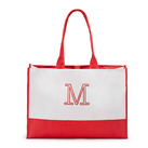 Colourblock Tote - Coral/Soft Red Bridal Party Gifts