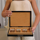 Premium Cigar Humidor With Hygrometre And Humidifier