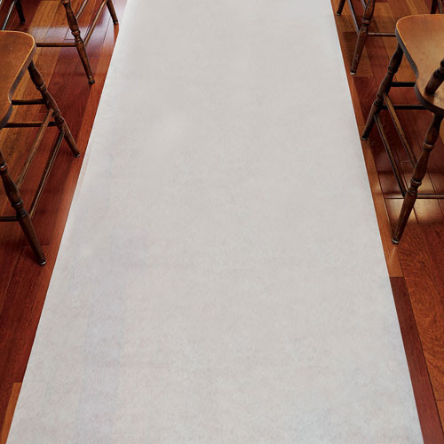 http://www.weddingfavoursaustralia.com.au/products/wedding-aisle-runner-plain-white-33g-non-woven-fabric