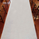 White Aisle Runner - Plain White 33g Non-Woven Fabric