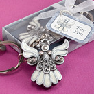 Angel Design Keychain Christenings & Baptisms  Favors