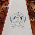 Regal Monogram Personalised Aisle Runner
