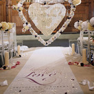 Expressions Personalised Wedding Aisle Runner