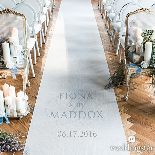 http://www.weddingfavoursaustralia.com.au/products/contemporary-vintage-personalised-aisle-runner