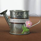 """Miniature Metal Garden Watering Can Wedding Favours (Set of 12)"""