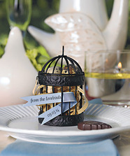 Miniature Classic Round Decorative Birdcages (Set 0f 4)
